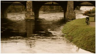 River Liffey - flowing through Kilcullen